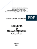Ingineria si managementul calitatii