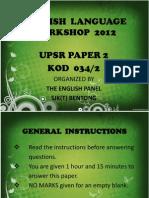 English Workshop Paper 2 SJKT