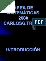 Programacion Area Matematicas