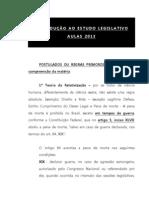 AULA - INTRODUÇÃO AO ESTUDO LEGISLATIVO