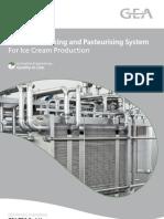 456e Ice Cream Pasteurizer