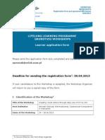 Gru Ws 2011 Learner Application Form 19.09.2011