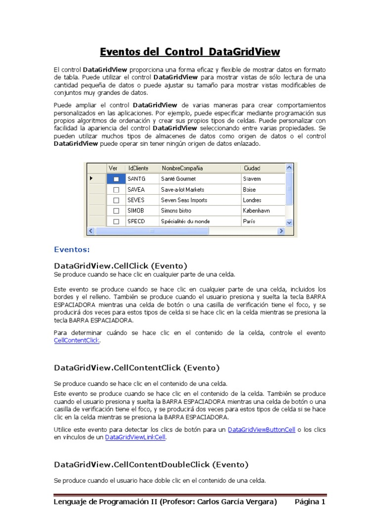 Datagridview Cellclick