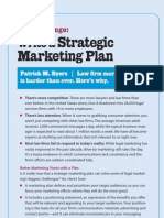 Write a Strategic Marketing Plan
