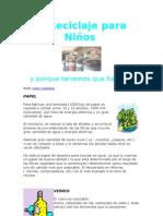 Reciclaje para Niños.doc