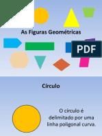 As Figuras Geométricas - PowerPoint Revisões