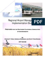 2006 Regional Airport Management Implementation Study