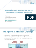 Agile ITIL Integration White Paper