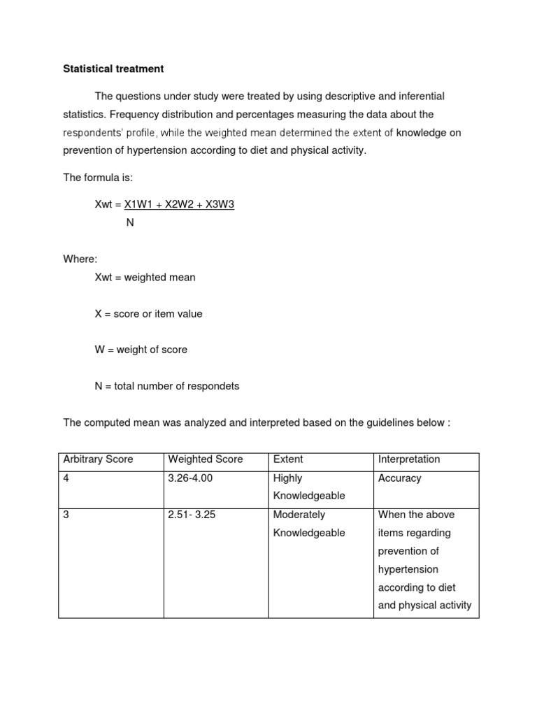 Dissertation using descriptive statistics
