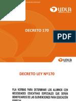 ppt decreto 170 udla