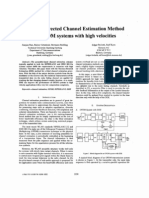 Decision-directed Channel Estimation Method