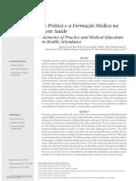 Cenários de prática e a formação médica na assistência em saúde