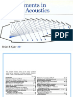 Measurements in Building Acoustics