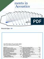 Measurements in Building Acoustics
