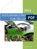 Biofuel for Sri Lanka