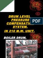 Drum Level Pressure Compensation
