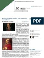 Roxelana Lui Suleyman Magnificul, Sclava Care a Condus Imperiul Otoman _ Historia