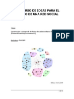 Personal Learning Environments for Social Networks