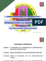 Sesión 01 - Presentación. Historia Ing. Civil - Ing. Civil en el Perú
