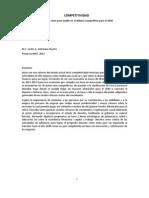 Competitividad Acciones clave para incidir en el México competitivo Carlos Amtmann Ituarte