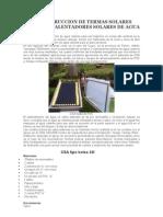 AUTOCONSTRUCCION DE TERMAS SOLARES CASERAS o CALENTADORES SOLARES DE AGUA.doc