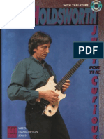 (Guitar Lesson) Allan Holdsworth - Just for the Curious