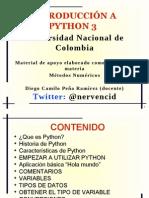 Introduccion a Python 3