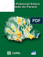 Atlas Do Potencial Eolico Do Estado Do Parana