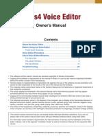 Tyros4 Voice EDITOR
