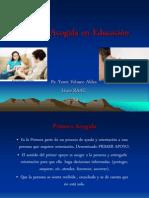 Primera Acogida en Educación Liceo 2013