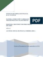_Trabajo Practico conducción y liderazgo - planeamiento