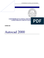 AutoCAD 2000 - Curso
