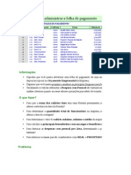 Folha de Pagto