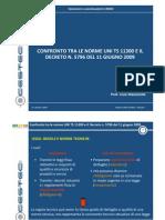 Confronto Tra Le Norme UNI TS 11300 e Il Decreto n. 5796 Del 11 Giugno 2009