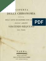 94139572 Vincenzo Requeno Scoperta Della Chironomia