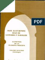 Díaz de Gamarra y Dávalos, Juan Benito- Elementos de filosofía moderna, t. II