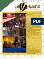 Cafe Newsletter