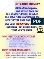 Safe Driving Indicators