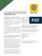 CallforFilms Ethnocineca2013 English
