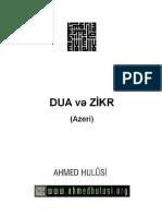 DUA və ZİKR (Azeri)