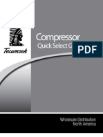 Tecumseh Quick Select Guide - Compressors
