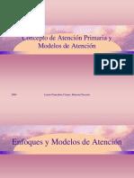 Concepto de Npa y Modelos de Atencion PRIMARIA
