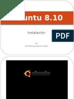 Guía de instalación Ubuntu 8.10