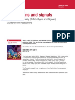 L 64 - Safety Signs and Signals - The Health and Safety (Safety Signs and Signals) - Guidance on Regulations - HSE - 2010