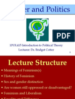 1POL415 Gender and Politics Lecture BBV