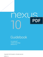 Nexus 10 Guidebook