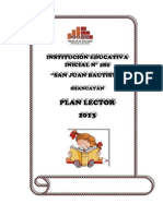 Plan Lector 2013 - IEI N° 282-San Juan Bautista