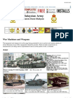 Malaysian Armed Forces Order of Battle Equipment.pdf