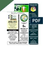 April 7 2013 Newsletter 3 Crosses KICK OFF SERIES 2011