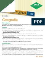 2013 ED Geografia